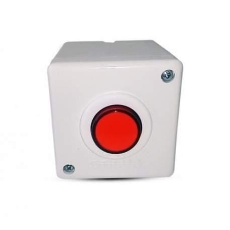 Botao P/acionamento Branco/vermelho Stilus Babco