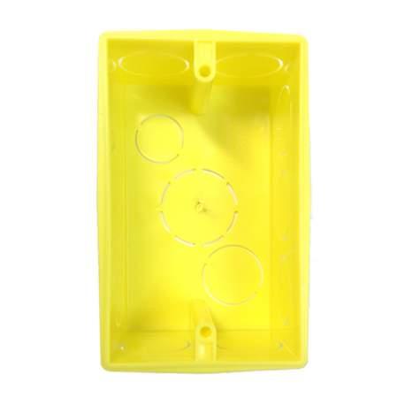 Caixa de Derivação 4x2 Amarelo 8802 Alumbra