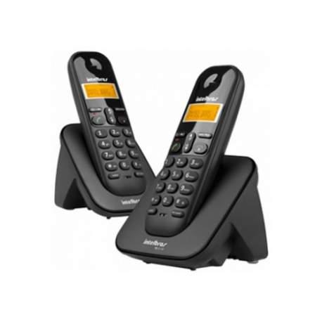 Telefone S/fio Ts 3112 Preto Intelbras-tho 4123102