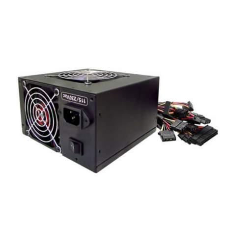 Fonte Atx 500w Pt-500eug Gaming K-mex