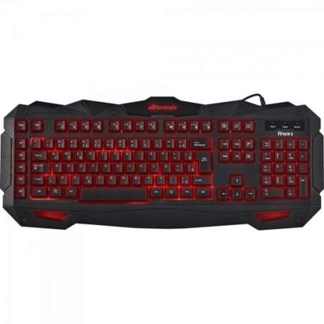 Teclado Gamer Multimidia Spider GK-705 Fortrek USB