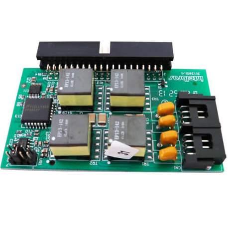 Placa 4 Ramais 4990147 Digitais Impacta 16/68 Intelbras-cc 4990147