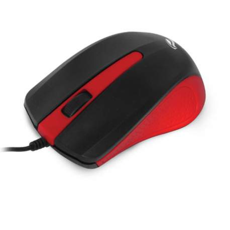 Mouse Usb Optico Vermelho Ms-20rd C3 Tech