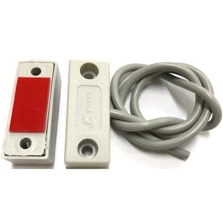 Mini Sensor Magnetico Sobrepor C/fio Porta Stilus Mspe