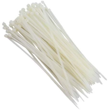 Abraçadeira Plastica Natural 28 Cm Emb 200 Pçs Reimold K 22 Lm 1043