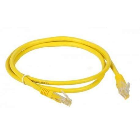 Patch Cord Cat6 2,5 Mts Amarelo Ad Connect