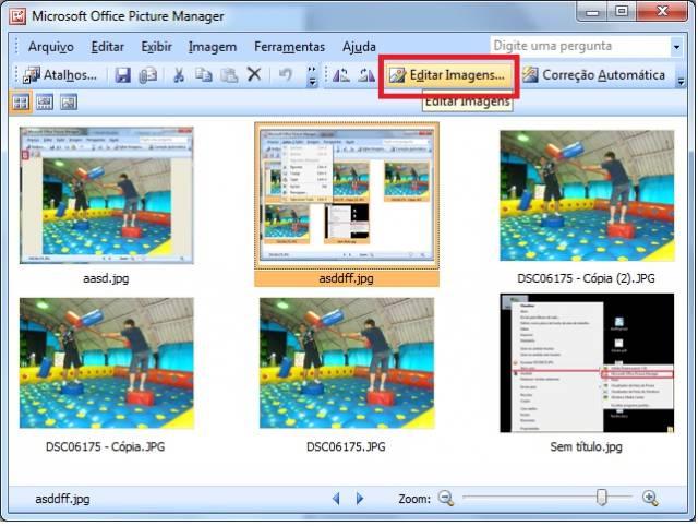 Cpmpactar imagens e fotos