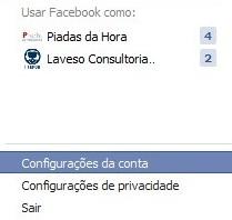 Excluir conta do Facebook