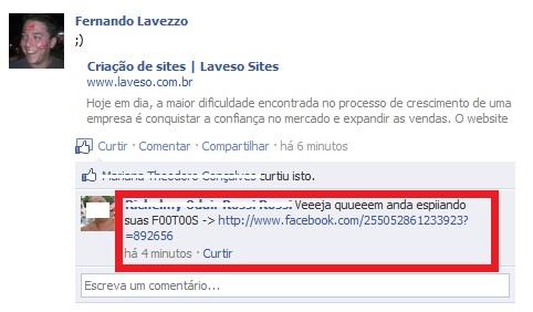 Virus facebook plugin Fotoos