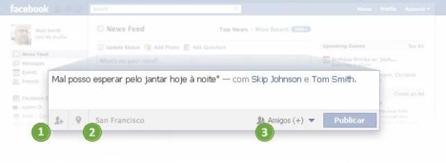 Publicar no Facebook com segurança e privacidade