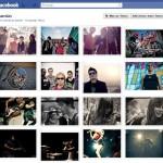 Ordenar álbum de fotos do facebook