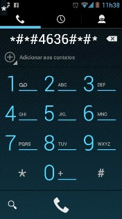 Central de SMS Android - Discar