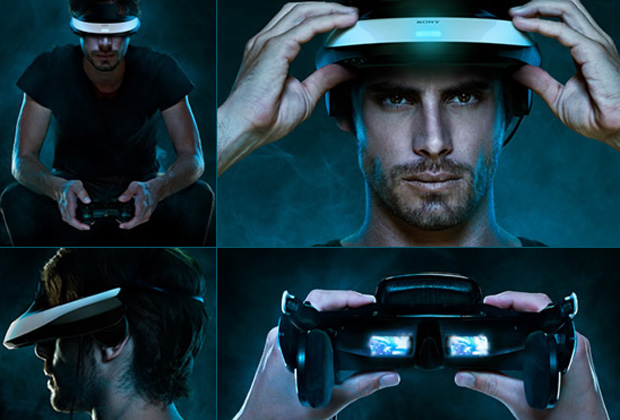 Sony Personal 3D Viewer - óculos 3D playstation