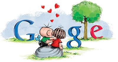 Google Doodle dia dos Namorados