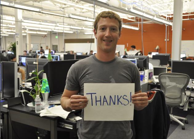 Foto Real de Mark Zuckerberg apoiando manifestações no Brasil