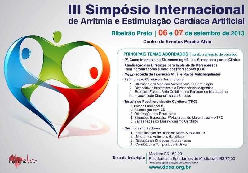 III Simpósio Internacional de Arritmia e Estimulação Cardíaca Artificial