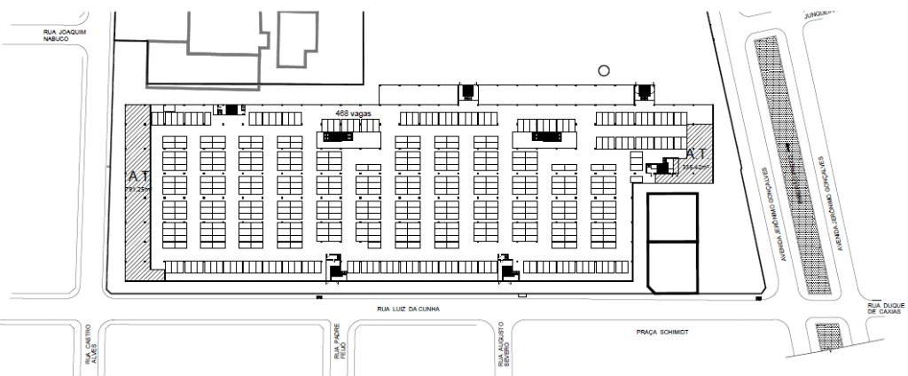 Subsolo / Estacionamento do Shopping Buriti