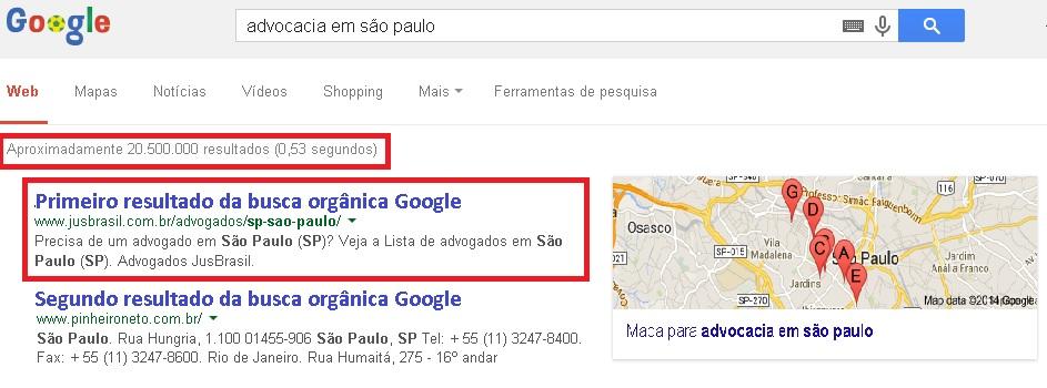 Resultados da busca por Advocacias em São Paulo