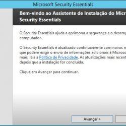 Instalando o Windows Defender no Server 2012