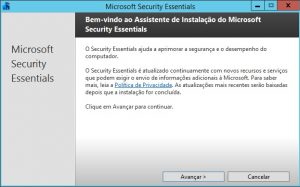 Instalando o Windows Defender no Server 2012