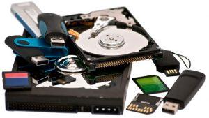 Recuperação de dados - HD - Pendrive