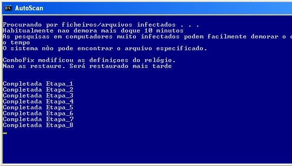 Remover vírus de seu computador usando o Combofix