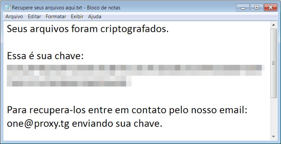 Descriptografar Ransomware Kaspersy