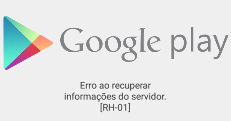 Playstore - Erro Servidor Google