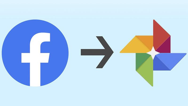 Facebook para Google Fotos